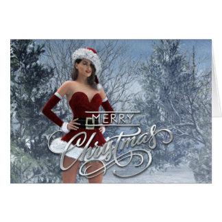 Frohe Weihnachten Vicky Karte