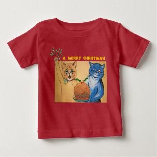 Frohe Weihnachten vom Katzen #holidayz Baby T-shirt