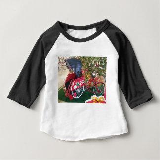 Frohe Weihnachten von Bali Indonesien Baby T-shirt