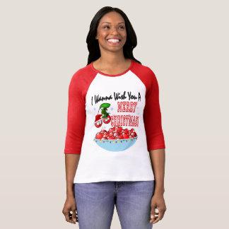 Frohe Weihnachten von der Kirschschüssel T-Shirt
