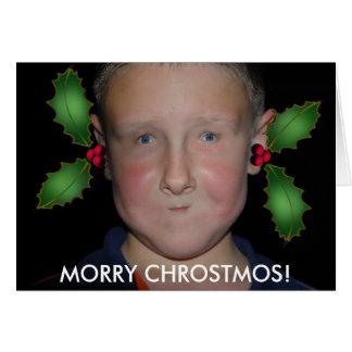 Frohe Weihnachten von Jommy Grußkarte