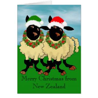 Frohe Weihnachten von Neuseeland Karte