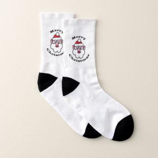 Frohe Weihnachten, Weihnachten Weihnachtsmann 02 Socken