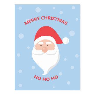 Frohe Weihnachten Weihnachtsmann Postkarte