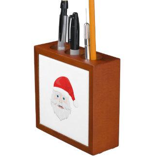 Frohe Weihnachten Weihnachtsmann Stifthalter