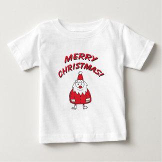 frohe Weihnachten Weihnachtsmann v1 Baby T-shirt