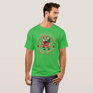 FROHE WEIHNACHTEN WEIHNACHTSMANNS T-Shirt
