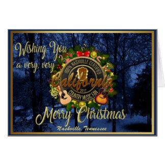 Frohe Weihnachten zu einem Karte
