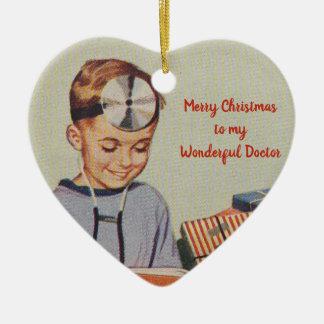 Frohe Weihnachten zu meinem wunderbaren Doktor Keramik Ornament