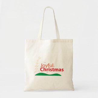 Frohe WeihnachtsTaschen-Tasche Tragetasche