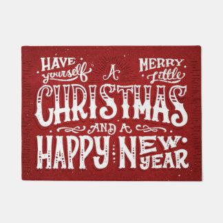 Frohe wenig Weihnachten Türmatte