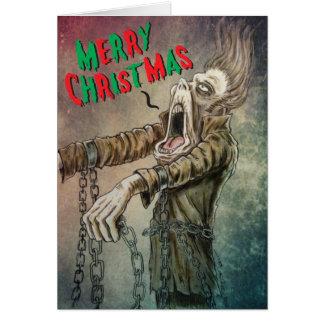 Frohen Weihnachten Carol vom Geist von Jakob Karte