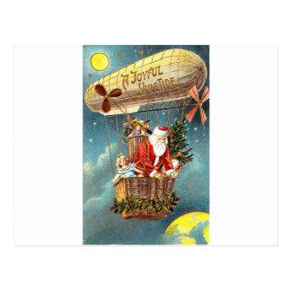 Frohen Weihnachten-Gezeiten Postkarte