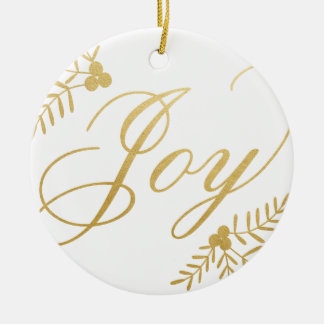 Froher Feiertag Keramik Ornament
