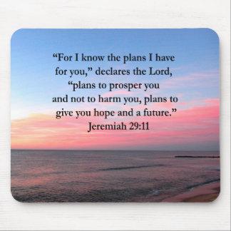 FROHER JEREMIAS-29:11 SONNENAUFGANG MOUSEPADS