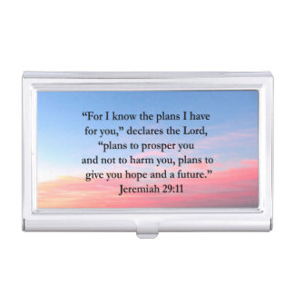 FROHER JEREMIAS-29:11 SONNENAUFGANG VISITENKARTEN DOSE