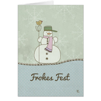 Frohes Fest Karte