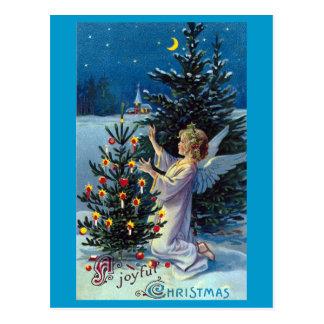 """""""Frohes Weihnachts"""" Vintages Weihnachten Postkarte"""