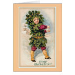 """""""Frohes Weihnachtsfest"""" Vintages Weihnachten Karte"""