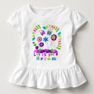 Fröhlich fröhlich fröhlich ist das Leben aber ein Kleinkind T-shirt