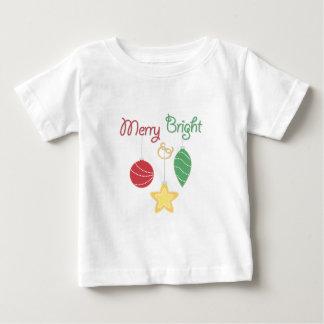 Fröhlich u. hell baby t-shirt