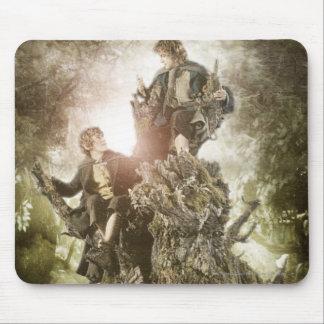 Fröhlich und Peregrin auf Treebeard Mousepad