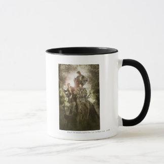 Fröhlich und Peregrin auf Treebeard Tasse