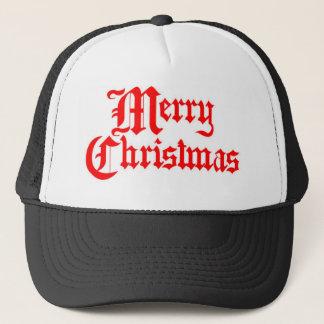 Fröhlich-Weihnachten Truckerkappe