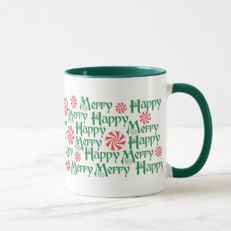 Fröhliche glückliche Tasse