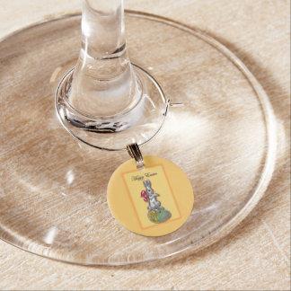 Fröhliche Ostern #1 Weinglas Anhänger