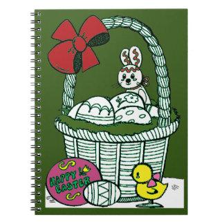 Fröhliche Ostern 3 Notizblock
