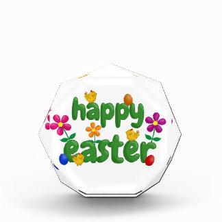 Fröhliche Ostern Acryl Auszeichnung