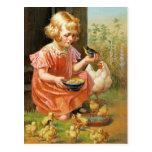 Fröhliche Ostern. Kundengerechte Kunst-Postkarten
