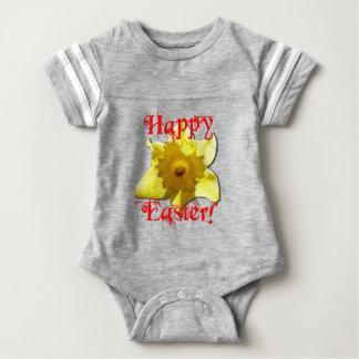Fröhliche Ostern, Narzissen 02.T Baby Strampler