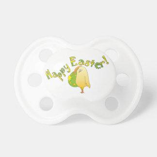 Fröhliche Ostern! Niedliche Huhn-Baby-Schnuller Schnuller