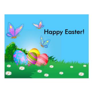 Fröhliche Ostern! Postkarte