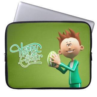 Fröhliche Ostern Toon Computer Schutzhüllen