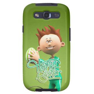 Fröhliche Ostern Toon Galaxy S3 Schutzhülle