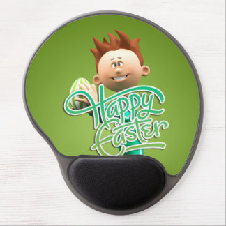 Fröhliche Ostern Toon Gel Mouse Pads