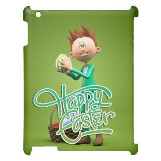 Fröhliche Ostern Toon Hülle Für iPad