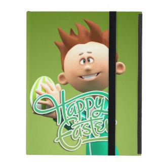 Fröhliche Ostern Toon iPad Hüllen