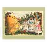 Fröhliche Ostern Vintage Osterhasen Postkarten