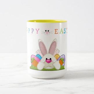 Fröhliche Ostern Zweifarbige Tasse