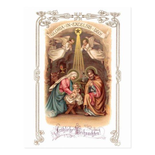 Fröhliche Weihnacht 2 Postkarte