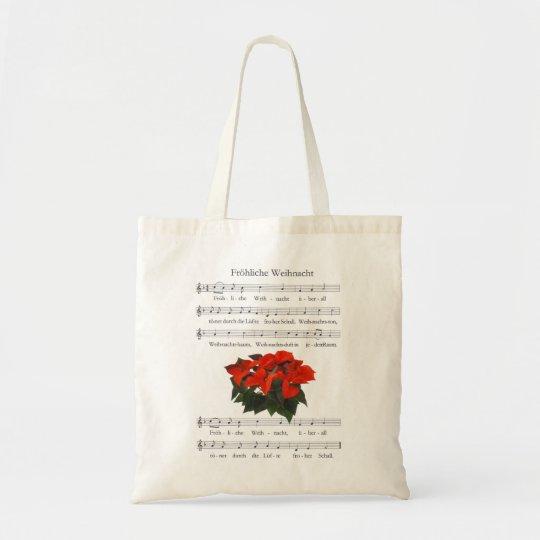 Fröhliche-Weihnacht-Tasche Tragetasche