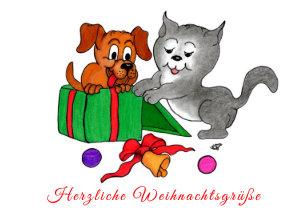 Weihnachtsgrüße Deutsch.Retro Deutsche Weihnachtskarten Zazzle De