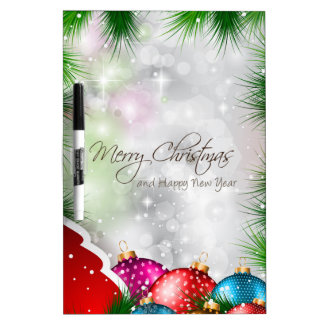 Fröhliche Weihnachtsbaum Greating Karte Memoboard