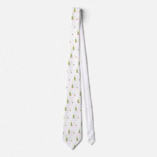 Fröhlicher Yeti-Weihnachtsfeiertags-modisches Krawatte