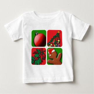 Fröhliches Chrsitmas Baby T-shirt