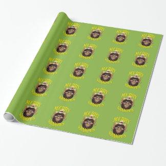 Fröhliches Krampus WeihnachtsPackpapier Geschenkpapier
